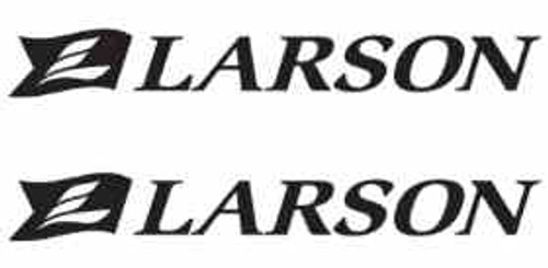 Larson Boats Logo Vinyl Decal Stickers High glossy, premium 3 mill vinyl, with a life span of 5 - 7 years!