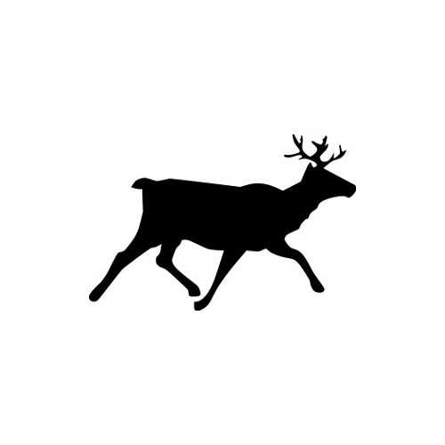 Buck  Runner  Vinyl Decal High glossy, premium 3 mill vinyl, with a life span of 5 - 7 years!