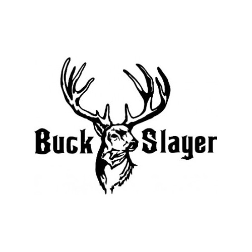 Buck Slayer   v3 Vinyl Decal High glossy, premium 3 mill vinyl, with a life span of 5 - 7 years!