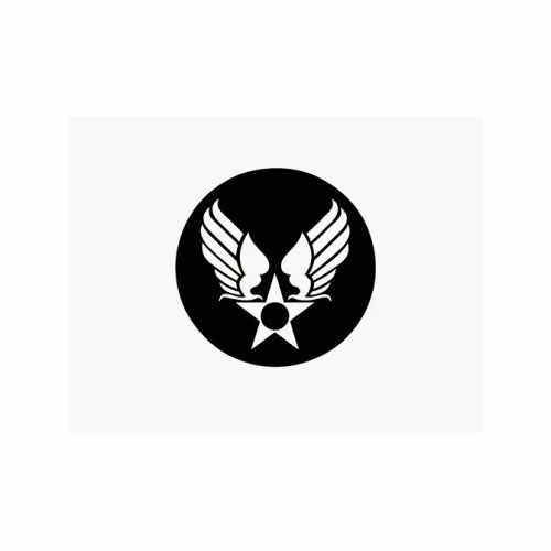 Army Air Corps  Vinyl Decal Sticker  Size option will determine the size from the longest side Industry standard high performance calendared vinyl film Cut from Oracle 651 2.5 mil Outdoor durability is 7 years Glossy surface finish