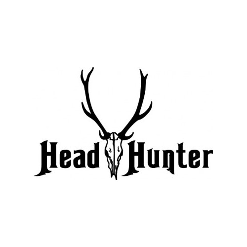 HEAD HUNTER ver2  Vinyl Decal High glossy, premium 3 mill vinyl, with a life span of 5 - 7 years!