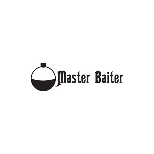 Master Baiter Vinyl Decal High glossy, premium 3 mill vinyl, with a life span of 5 - 7 years!