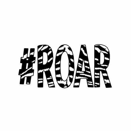 # Roar  Vinyl Decal Sticker  Size option will determine the size from the longest side Industry standard high performance calendared vinyl film Cut from Oracle 651 2.5 mil Outdoor durability is 7 years Glossy surface finish