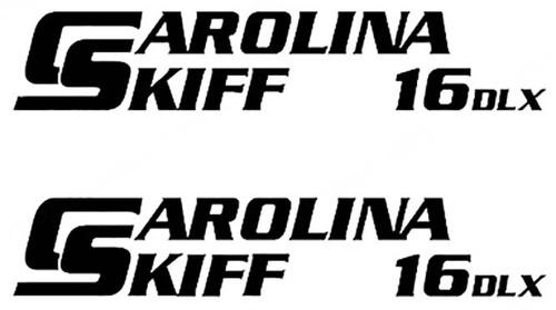 Carolina Skiff 16 DLX