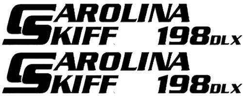 Carolina Skiff 198DLX