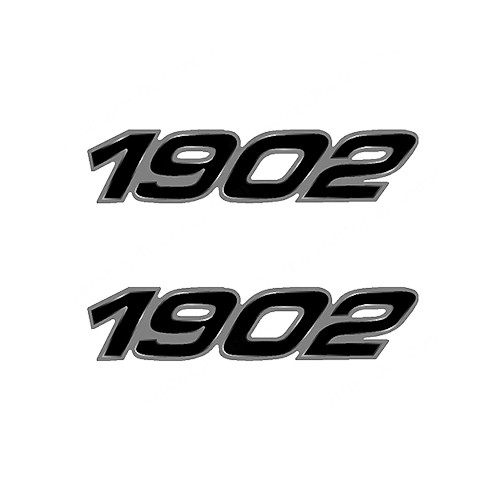 Century1902  Boat Vinyl Decal Kit High glossy, premium 3 mill vinyl, with a life span of 5 - 7 years!