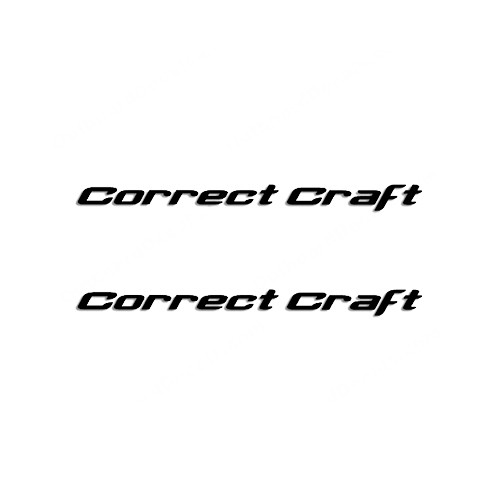 Correct Craft Style 1 Boat Vinyl Decal Kit High glossy, premium 3 mill vinyl, with a life span of 5 - 7 years!
