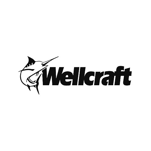 Wellcraft Style 1 Boat Vinyl Decal Kit High glossy, premium 3 mill vinyl, with a life span of 5 - 7 years!