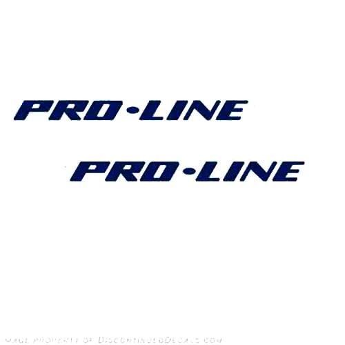 Pro-Line Boat Vinyl Decal