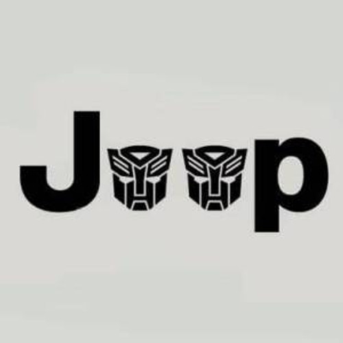 Jeep Wrangler Side Fender Decal set of 2 Autobots High glossy, premium 3 mill vinyl, with a life span of 5 - 7 years!