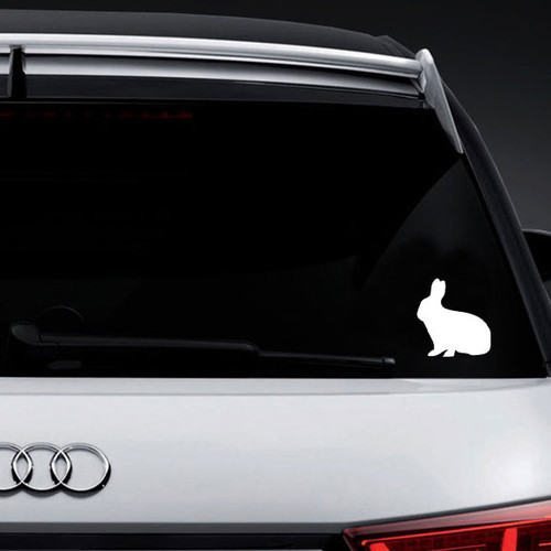 Bunny Rabbit Vinyl Decal Sticker High glossy, premium 3 mill vinyl, with a life span of 5 - 7 years!