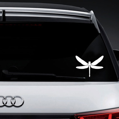 Dragonfly   Vinyl Decal High glossy, premium 3 mill vinyl, with a life span of 5 - 7 years!