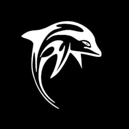 Dolphin tribal  Decal High glossy, premium 3 mill vinyl, with a life span of 5 - 7 years!