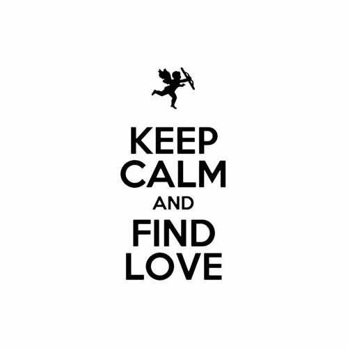 Keep Calm And Find Love Vinyl Decal Sticker Size option will determine the size from the longest side Industry standard high performance calendared vinyl film Cut from Oracle 651 2.5 mil Outdoor durability is 7 years Glossy surface finish