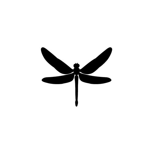 Dragonfly ver2   Vinyl Decal High glossy, premium 3 mill vinyl, with a life span of 5 - 7 years!