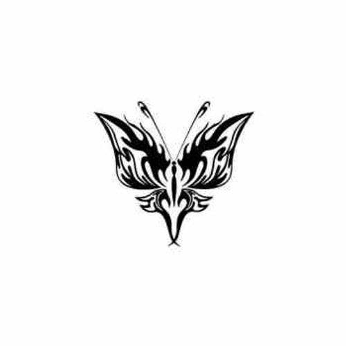 Tribal Butterfly ver20   Vinyl Decal High glossy, premium 3 mill vinyl, with a life span of 5 - 7 years!