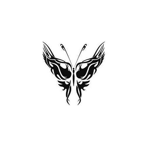 Tribal Butterfly ver4   Vinyl Decal High glossy, premium 3 mill vinyl, with a life span of 5 - 7 years!