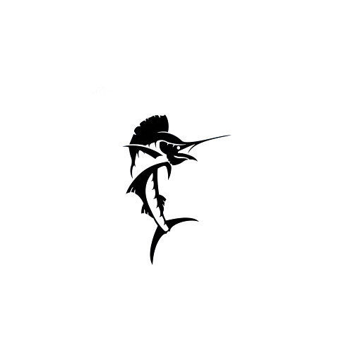 Sailfish Decal High glossy, premium 3 mill vinyl, with a life span of 5 - 7 years!