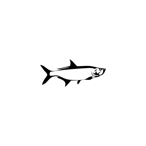 Tarpon 3 Decal High glossy, premium 3 mill vinyl, with a life span of 5 - 7 years!