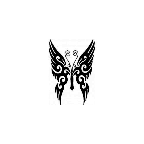 Tribal Butterfly 1 Vinyl Decal High glossy, premium 3 mill vinyl, with a life span of 5 - 7 years!