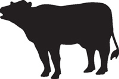 Cow 11 Vinyl Decal High glossy, premium 3 mill vinyl, with a life span of 5 - 7 years!