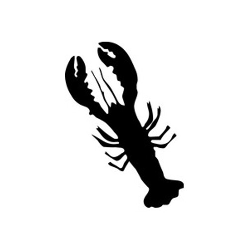 Lobster 3 Vinyl Decal High glossy, premium 3 mill vinyl, with a life span of 5 - 7 years!