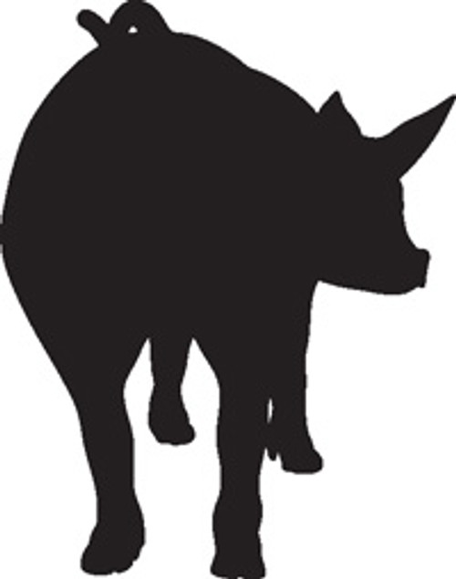Piglet 9 Vinyl Decal High glossy, premium 3 mill vinyl, with a life span of 5 - 7 years!
