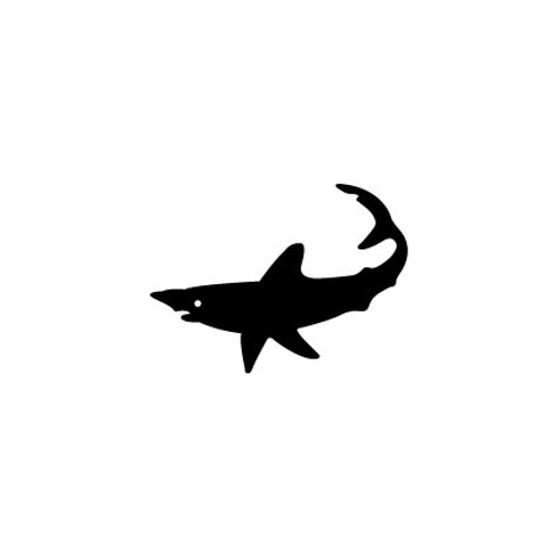 Shark 2 Vinyl Decal High glossy, premium 3 mill vinyl, with a life span of 5 - 7 years!
