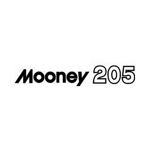 Mooney 205 Vinyl Decal Graphic High glossy, premium 3 mill vinyl, with a life span of 5 – 7 years!