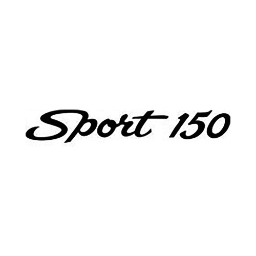 Musketeer Sport 150 Logo Vinyl Decal Graphic High glossy, premium 3 mill vinyl, with a life span of 5 – 7 years!
