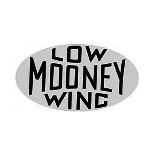 Mooney Low Wing Vinyl Decal Graphic High glossy, premium 3 mill vinyl, with a life span of 5 – 7 years!