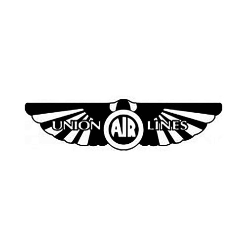 Union Airlines Vinyl Decal Graphic High glossy, premium 3 mill vinyl, with a life span of 5 – 7 years!