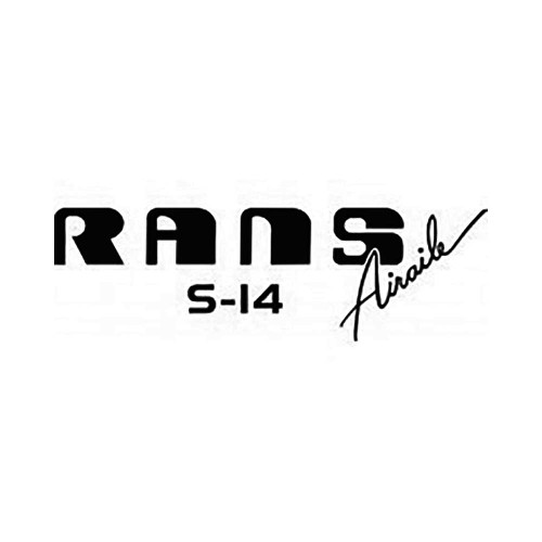 Rans S-14 Airaile Logo Vinyl Decal Graphic High glossy, premium 3 mill vinyl, with a life span of 5 – 7 years!