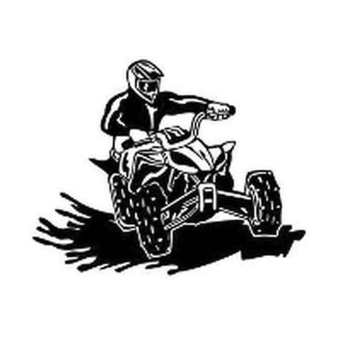 Our ATV v10 Decal Sticker comes in High glossy, premium 3 mill vinyl, with a life span of 5 - 7 years. Color Options Available. <strong> </strong> &nbsp;