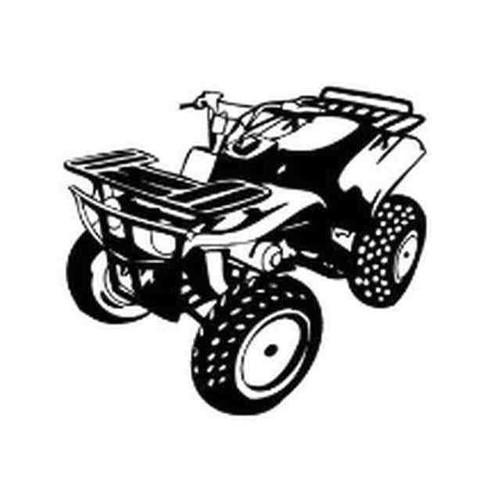 Our ATV v2 Decal Sticker comes in High glossy, premium 3 mill vinyl, with a life span of 5 - 7 years. Color Options Available. <strong> </strong> &nbsp;