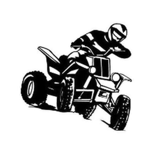 Our ATV v3 Decal Sticker comes in High glossy, premium 3 mill vinyl, with a life span of 5 - 7 years. Color Options Available. <strong> </strong> &nbsp;