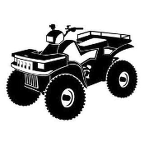 Our ATV v5 Decal Sticker comes in High glossy, premium 3 mill vinyl, with a life span of 5 - 7 years. Color Options Available. <strong> </strong> &nbsp;