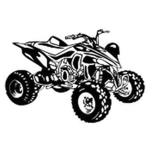 Our ATV v7 Decal Sticker comes in High glossy, premium 3 mill vinyl, with a life span of 5 - 7 years. Color Options Available. <strong> </strong> &nbsp;