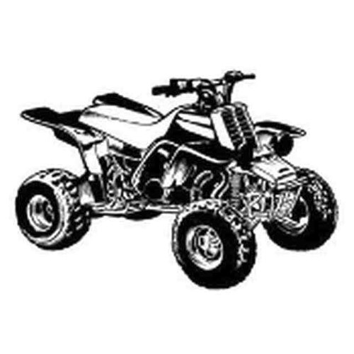 Our ATV v8 Decal Sticker comes in High glossy, premium 3 mill vinyl, with a life span of 5 - 7 years. Color Options Available. <strong> </strong> &nbsp;