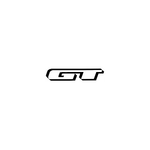 Our GT Bicycles Solo Logo Decal is offered in many color and size options. <strong>PREMIUM QUALITY</strong> <ul>  	<li>High Performance Vinyl</li>  	<li>3 mil</li>  	<li>5 - 7 Outdoor Lifespan</li>  	<li>High Glossy</li>  	<li>Made in the USA</li> </ul> &nbsp;