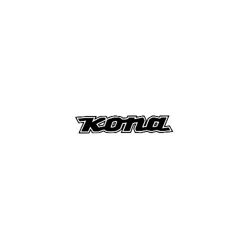 Our Kona Text Logo Decal is offered in many color and size options. <strong>PREMIUM QUALITY</strong> <ul>  <li>High Performance Vinyl</li>  <li>3 mil</li>  <li>5 - 7 Outdoor Lifespan</li>  <li>High Glossy</li>  <li>Made in the USA</li> </ul> &nbsp;