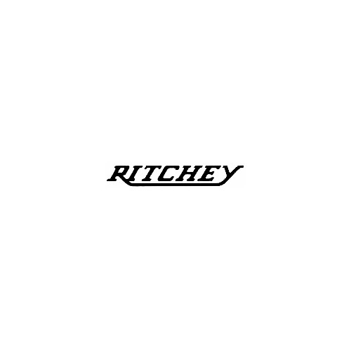 Our Ritchey Text Logo Decal is offered in many color and size options. <strong>PREMIUM QUALITY</strong> <ul>  <li>High Performance Vinyl</li>  <li>3 mil</li>  <li>5 - 7 Outdoor Lifespan</li>  <li>High Glossy</li>  <li>Made in the USA</li> </ul> &nbsp;