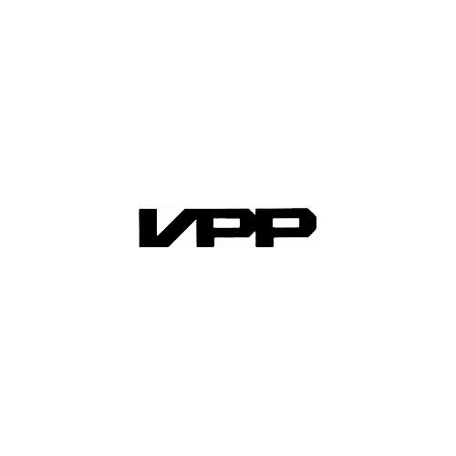 Our Santa Cruz Bicycles VPP Logo Decal is offered in many color and size options. <strong>PREMIUM QUALITY</strong> <ul>  <li>High Performance Vinyl</li>  <li>3 mil</li>  <li>5 - 7 Outdoor Lifespan</li>  <li>High Glossy</li>  <li>Made in the USA</li> </ul> &nbsp;
