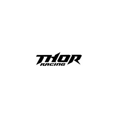 Our Thor Racing Logo Decal is offered in many color and size options. <strong>PREMIUM QUALITY</strong> <ul>  <li>High Performance Vinyl</li>  <li>3 mil</li>  <li>5 - 7 Outdoor Lifespan</li>  <li>High Glossy</li>  <li>Made in the USA</li> </ul> &nbsp;