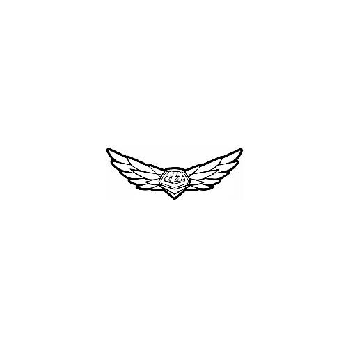 Our Troy Lee Designs TLD Wings Logo Decal is offered in many color and size options. <strong>PREMIUM QUALITY</strong> <ul>  <li>High Performance Vinyl</li>  <li>3 mil</li>  <li>5 - 7 Outdoor Lifespan</li>  <li>High Glossy</li>  <li>Made in the USA</li> </ul> &nbsp;