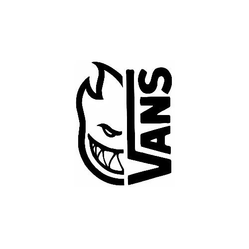 Our Vans X Spitfire Logo Decal is offered in many color and size options. <strong>PREMIUM QUALITY</strong> <ul>  <li>High Performance Vinyl</li>  <li>3 mil</li>  <li>5 - 7 Outdoor Lifespan</li>  <li>High Glossy</li>  <li>Made in the USA</li> </ul> &nbsp;
