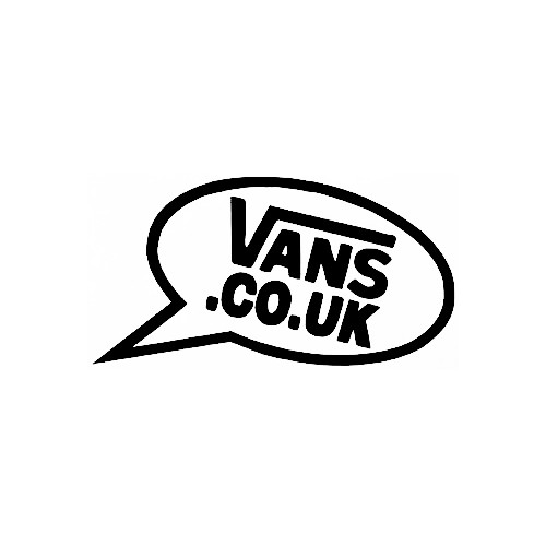 Our Vans Speech Bubble Logo Decal is offered in many color and size options. <strong>PREMIUM QUALITY</strong> <ul>  <li>High Performance Vinyl</li>  <li>3 mil</li>  <li>5 - 7 Outdoor Lifespan</li>  <li>High Glossy</li>  <li>Made in the USA</li> </ul> &nbsp;
