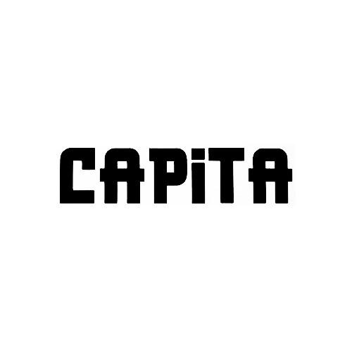 Our Capita Text Logo Decal is offered in many color and size options. <strong>PREMIUM QUALITY</strong> <ul>  <li>High Performance Vinyl</li>  <li>3 mil</li>  <li>5 - 7 Outdoor Lifespan</li>  <li>High Glossy</li>  <li>Made in the USA</li> </ul> &nbsp;