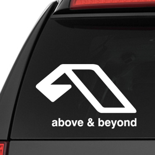 Our Above and Beyond Logo Vinyl Decal Sticker is offered in many color and size options. <strong>PREMIUM QUALITY</strong> <ul>  <li>High Performance Vinyl</li>  <li>3 mil</li>  <li>5 - 7 Outdoor Lifespan</li>  <li>High Glossy</li>  <li>Made in the USA</li> </ul> &nbsp;