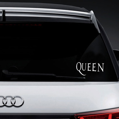 Our Queen Logo Vinyl Decal Sticker is offered in many color and size options. <strong>PREMIUM QUALITY</strong> <ul>  <li>High Performance Vinyl</li>  <li>3 mil</li>  <li>5 - 7 Outdoor Lifespan</li>  <li>High Glossy</li>  <li>Made in the USA</li> </ul> &nbsp;